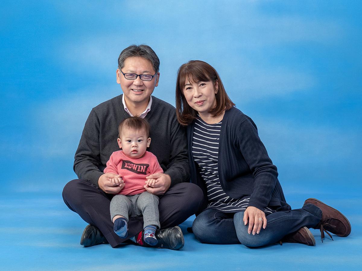 ひかり写真 家族写真1